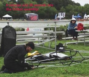 Kayak desarmable