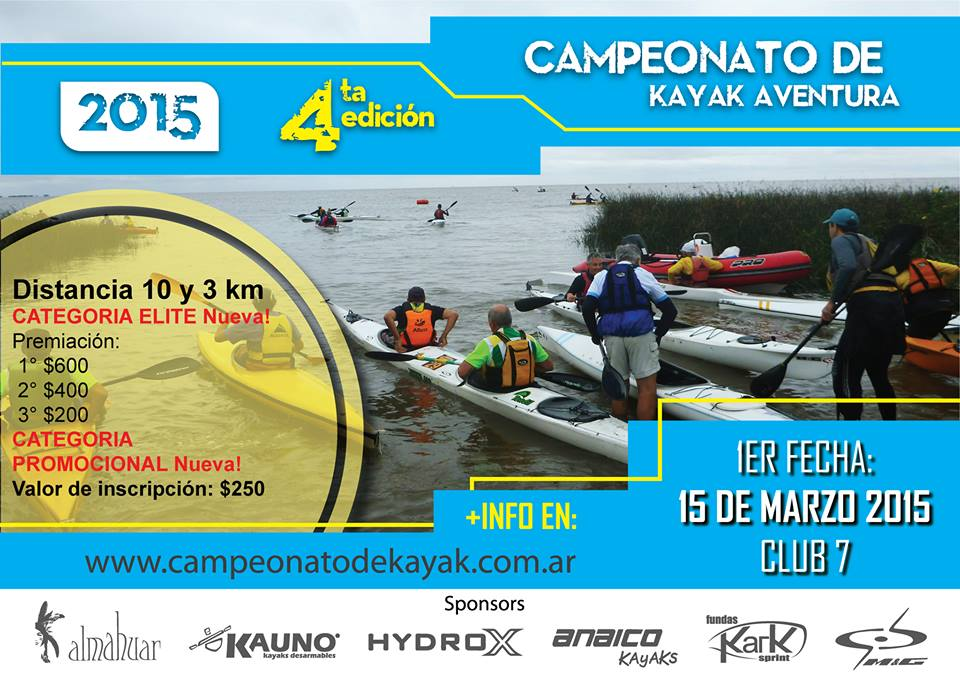 Campeonato de Kayak Aventura