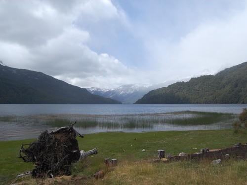 Camping lago Falkner