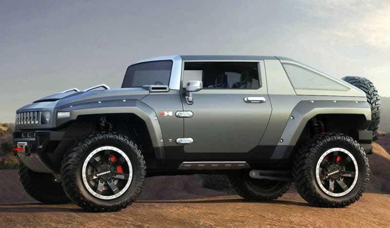 El Nuevo 4x4 de GM Hummer EV