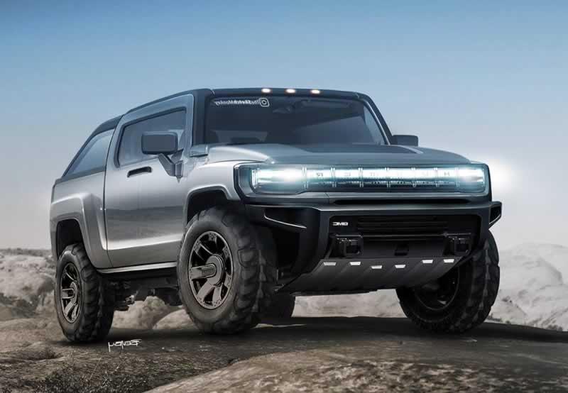 Nuevo Hummer 2021 EV Electric