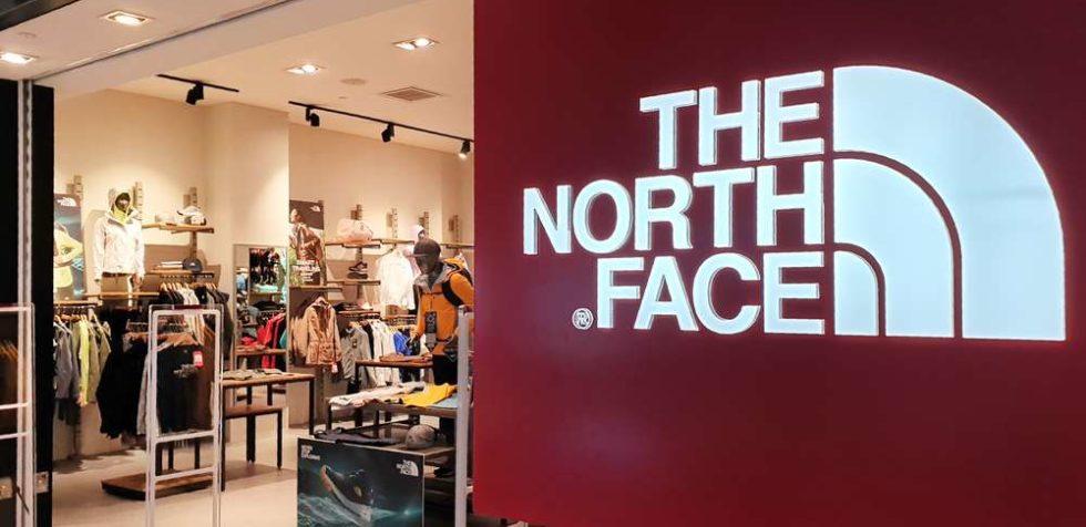 NorthFace local tienda