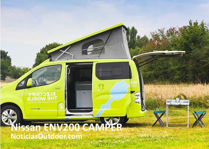nissan env200 camper acampada