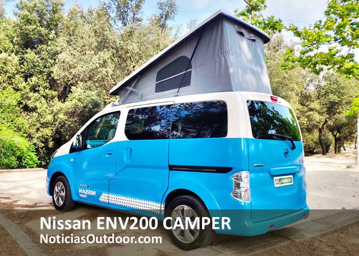 nissan env200 camper techo