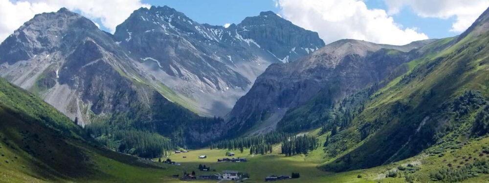 Los Alpes en Verano